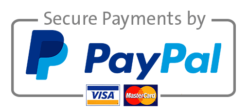 Pay securely using Paypal!