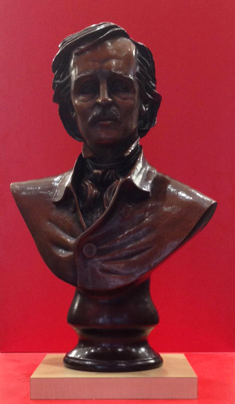 EDGAR ALLAN POE BUST ARTIST PROOF