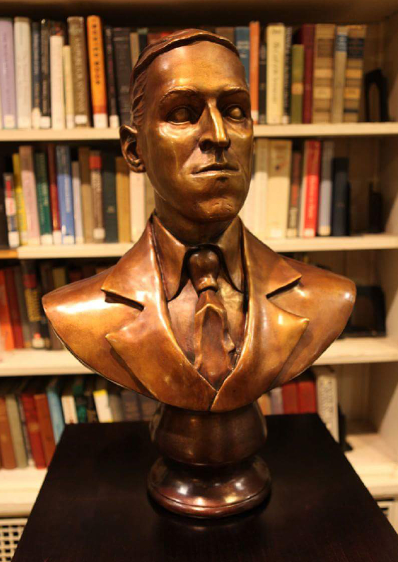 H.P. LOVECRAFT BUST ARTIST PROOF