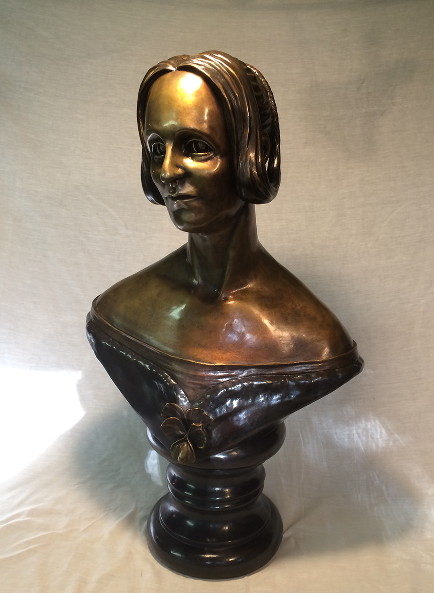 MARY SHELLEY BUST ARTIST PROOF